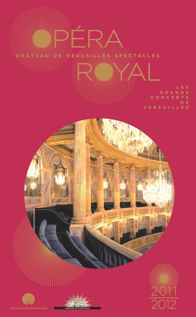 Programme de Salle : Ariodante. 2011/2012, Opéra royal de Versailles |