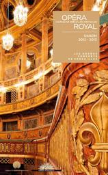 Programme de Salle : Alessandro. 2012/2013, Opéra royal de Versailles |
