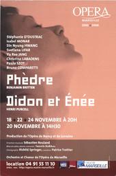Affiche : Phèdre. 2005/2006, Opéra de Marseille |