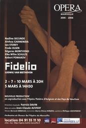 Affiche : Fidelio. 2005/2006, Opéra de Marseille |