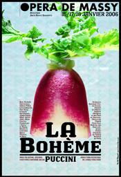 Affiche : Bohème (La). 2005/2006, Opéra de Massy |