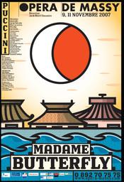 Affiche : Madame Butterfly. 2007/2008, Opéra de Massy |