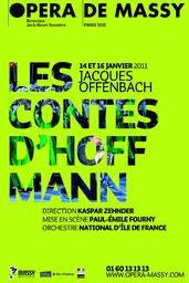 Affiche : Contes d'Hoffmann (Les). 2010/2011, Opéra de Massy |