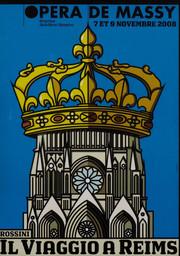 Programme de Salle : Viaggio a Reims (Il). 2008/2009, Opéra de Massy |