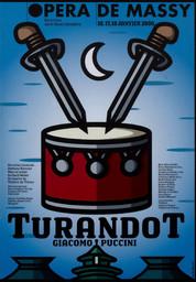 Programme de Salle : Turandot. 2008/2009, Opéra de Massy |