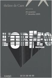 Affiche : Orfeo (L'). 2005/2006, Théâtre de Caen |