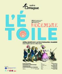Affiche : Étoile (L'). 2007/2008, Théâtre national de l'Opéra-comique |