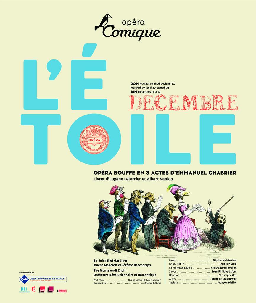 Affiche : Étoile (L'). 2007/2008, Théâtre national de l'Opéra-comique  