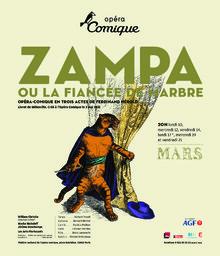 Affiche : Zampa. 2007/2008, Théâtre national de l'Opéra-comique  