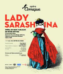 Affiche : Lady Sarashina. 2008/2009, Théâtre national de l'Opéra-comique  