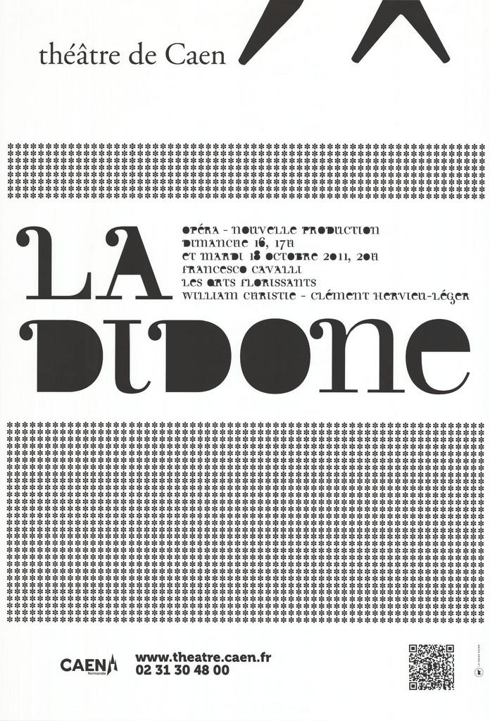 Affiche : Didone (La). 2011/2012, Théâtre de Caen  