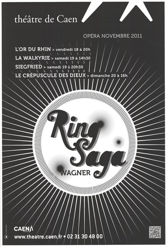 Affiche : Crépuscule des dieux (Le). 2011/2012, Théâtre de Caen  