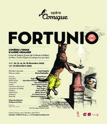 Affiche : Fortunio. 2009/2010, Théâtre national de l'Opéra-comique  