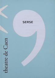 Programme de Salle : Serse. 2003/2004, Théâtre de Caen |