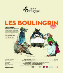 Affiche : Boulingrin (Les). 2009/2010, Théâtre national de l'Opéra-comique  