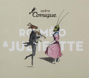 Programme de Salle : Roméo et Juliette. 2007/2008, Théâtre national de l'Opéra-comique |