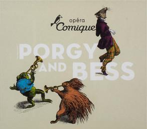 Programme de Salle : Porgy and Bess. 2007/2008, Théâtre national de l'Opéra-comique |