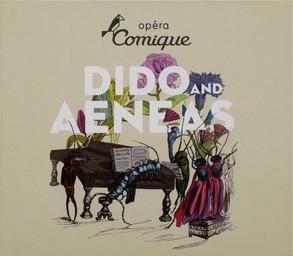 Programme de Salle : Dido and Æneas. 2008/2009, Théâtre national de l'Opéra-comique |
