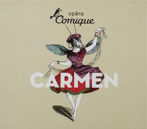 Programme de Salle : Carmen. 2008/2009, Théâtre national de l'Opéra-comique |