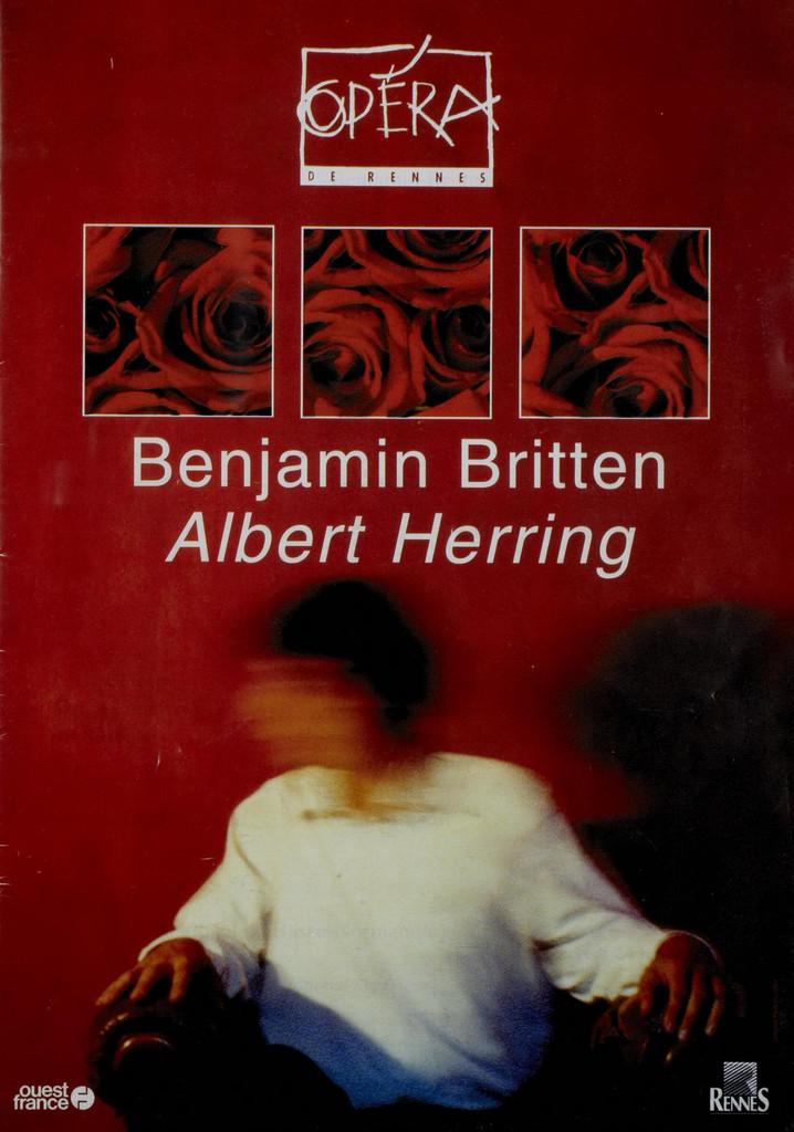 Programme de Salle : Albert Herring. 2000/2001, Opéra de Rennes  