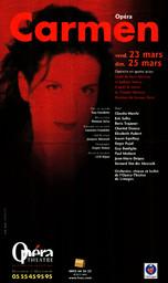 Affiche : Carmen. 2006/2007, Opéra Théâtre de Limoges |