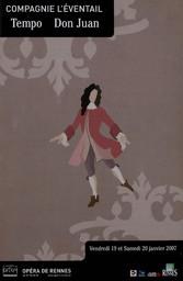 Programme de Salle : Don Juan. 2006/2007, Opéra de Rennes |