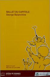 Programme de Salle : Allegro Brillante. 2007/2008, Opéra de Rennes |