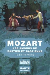 Affiche : Bastien et Bastienne. 2006/2007, Opéra de Rouen Haute-Normandie |