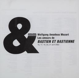 Programme de Salle : Bastien et Bastienne. 2001/2002, Opéra de Rouen Haute-Normandie |
