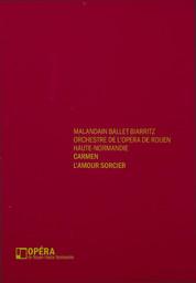 Programme de Salle : Amour sorcier (L'). 2009/2010, Opéra de Rouen Haute-Normandie |