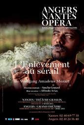 Affiche : Enlèvement au Sérail (L'). 2012/2013, Angers Nantes Opéra  