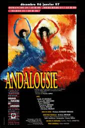 Affiche : Andalousie. 1996/1997, Opéra Théâtre de Limoges |