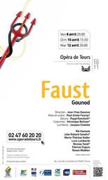 Programme de Salle : Faust. 2010/2011, Opéra de Tours |