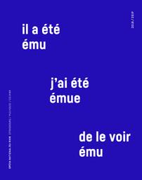 Opéra national du Rhin - Brochure de saison. 2018/2019, Opéra national du Rhin  