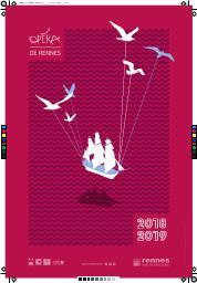 Opéra de Rennes - Brochure de Saison . 2018/2019, Opéra de Rennes  |